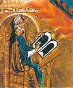 La compositora y profetisa Hildegard von Bingen (s.XII)