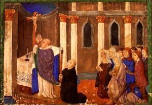 La misa es la palabra de Dios y la eucaristía ofrecidas diariamente al pueblo.