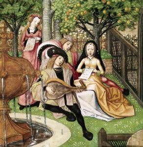 El amor cortés en la música flamenca del siglo XV