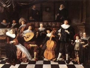 Familia haciendo música [1636] de Jan miense Molenaer.