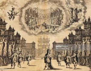 Representación de Il pomo d'oro en Viena ().