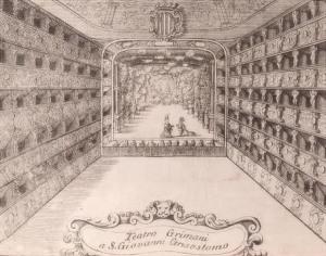 Teatro Santi Giovanni e Paolo, erigido en Venecia en 1638, donde se estrenaron diversas óperas de Cavalli y Monteverdi, entre ellas Ulises [1673] y Popea [1643].