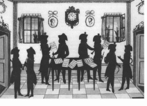 La serenata para vientos era un género musical utilizado para amenizar comidas y eventos al aire libre.