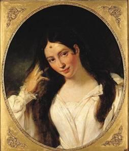 María Malibrán, diva de los escenarios parisinos, por François Bouchot.