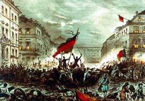 Revolución de 1848 en Berlín.