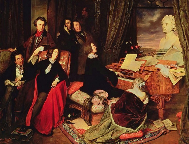 Resultado de imagen de romanticismo musical