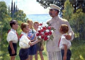 Rosas para Stalin [1949], de Boris Vladimirski.
