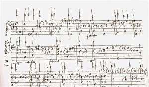 Fragmento del Manuscrito Schele.