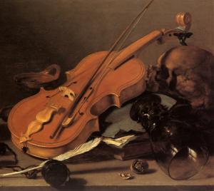 Naturaleza muerta con violín (ca. 1626).