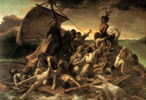 La balsa de la medusa [1819] de Théodore Géricault.
