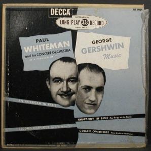 Paul Whiteman y George Gershwin, los más célebres promotores del