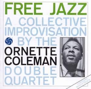 Portada del álbum Free jazz [1960] de Ornette Coleman.