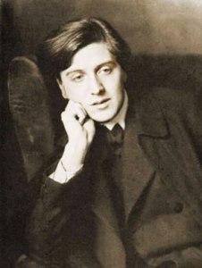 El compositor Alban Berg, en una fotografía de juventud.
