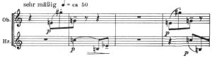 Webern Concierto op.24 Tema B exposicion