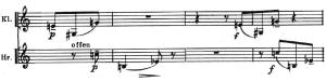 Webern Concierto op.24 Tema B recapitulacion