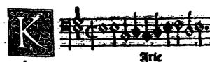 "Motivo auxiliar del Kyrie I de la Misa ""Mille regretz"" de Cristóbal de Morales."