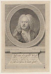 El lautista y compositor Sylvius Leopold Weiss.