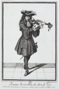 Músico de los 24 violines del rey.
