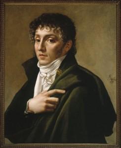 Retrato de Étienne-Nicolas Méhul fechado en 1799.