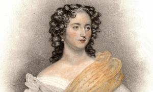 Retrato de la actriz Harriet Smithson, inspiradora del programa de la Sinfonía Fantástica y futura esposa del compositor.