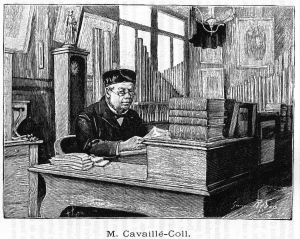 Aristide Cavaillé-Coll en su taller.