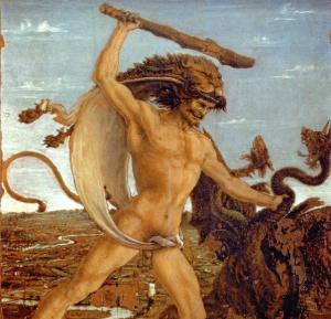 Pollaiolo - Hercules y la hydra