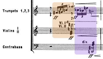 Motivo de trompeta que representa el toque de diana.