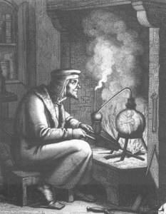 La ciencia como vía -fallida- de acceso a la sabiduría es uno de los símbolos centrales del Fausto.