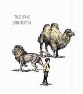 Las tres transformaciones anunciadas por Zaratustra.