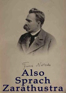 Portada de Así habló Zaratustra, de Friedrich Nietzsche.