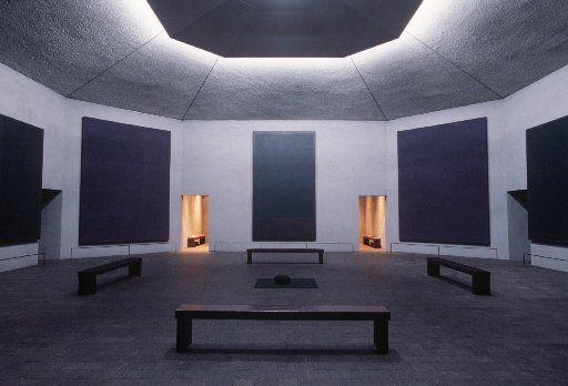 Entradas a la Capilla Rothko.