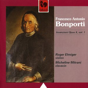 Francesco Antonio Bonporti en su único retrato conocido.