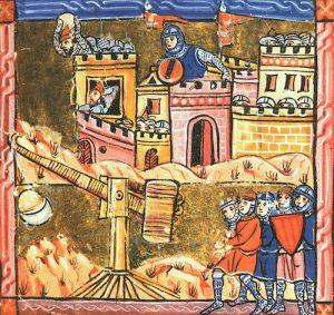 Asedio de San Juan de Acre, durante la Tercera Cruzada.