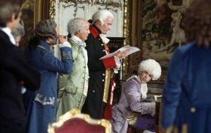 El emperador José II de Austria en el film Amadeus [1984].